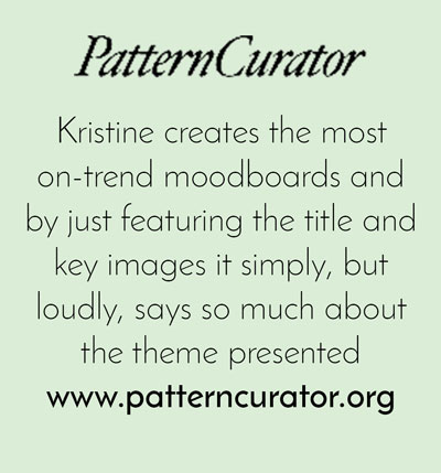 Pattern Curator Inspirational website - Arnold & Bird