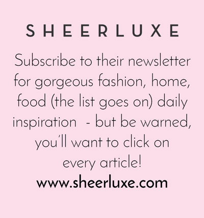 Sheerluxe Inspirational website - Arnold & Bird