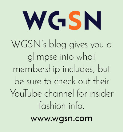 WGSN free trend resource - Arnold & Bird