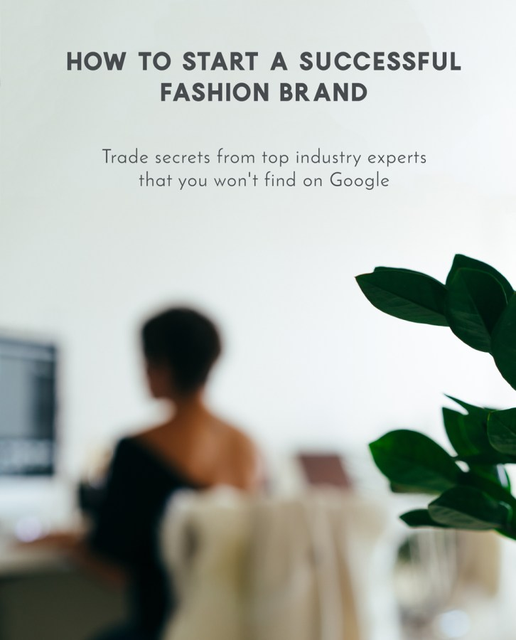 2019 2020 Wedding Trends You Ll Want To Follow: How To Start & Build A Fashion Brand Workshop