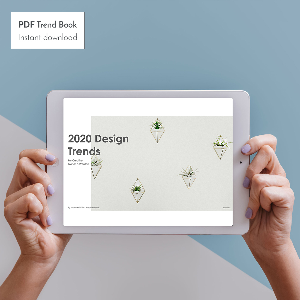 Product Trends 2020.2020 Trend Guide For Creative Brands Retailers Instant Pdf Download Recording