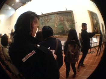 Botticelli (Geburt der Venus) Uffizien
