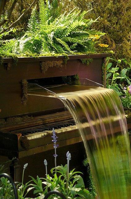 Piano Waterfall, Philadelphia, Pennsylvania