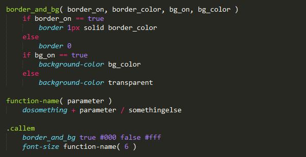 stylus combinaciones variables