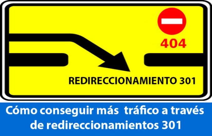 trafico con redireccionamientos 301