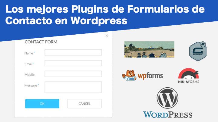 mejores plugins formularios wordpress
