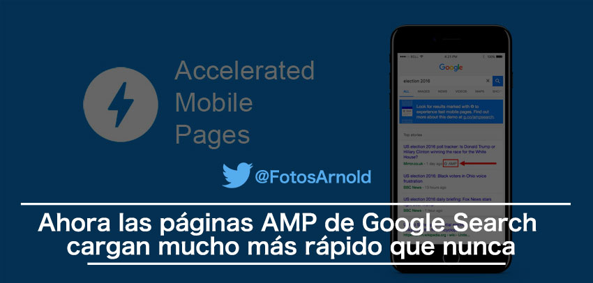 paginas amp google search console rapidas