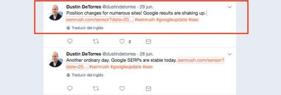 actualizacion algoritmo google junio 2017