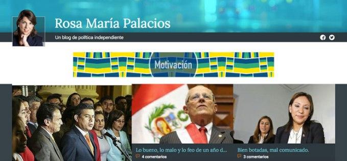 rosa maria palacios blog politica
