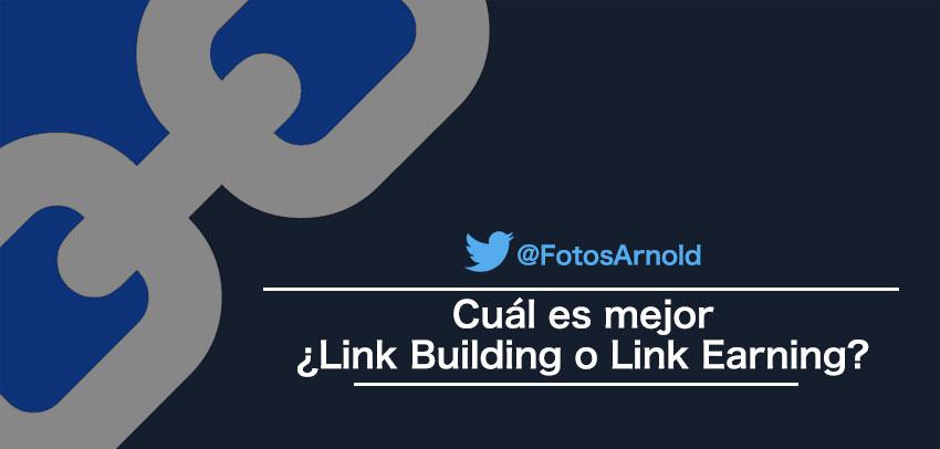 usar linkbuilding o link earning
