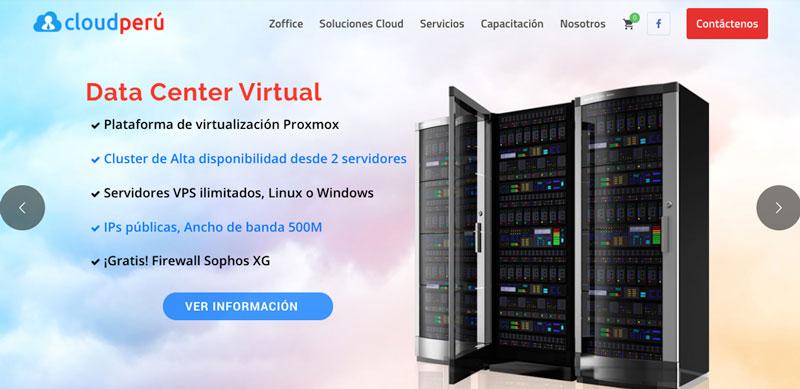 cloud peru proveedor hosting