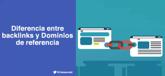 diferencia entre backlinks dominio referencia