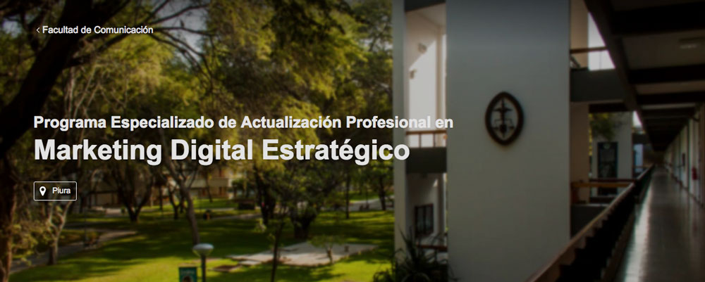 estudiar marketing digital estrategico piura peru