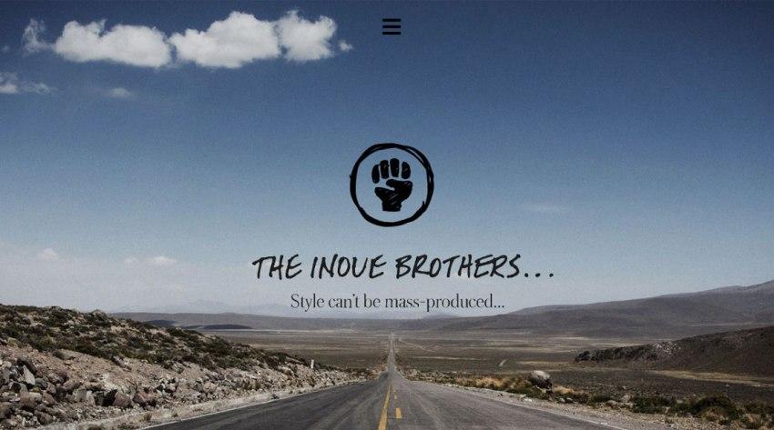 the inove brothers diseno web minimalista