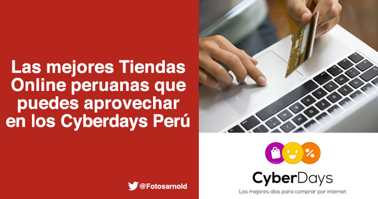 mejores tiendas online peruanas cyberdays