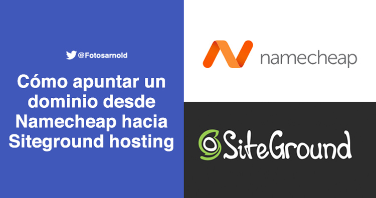 namecheap siteground configuraciones