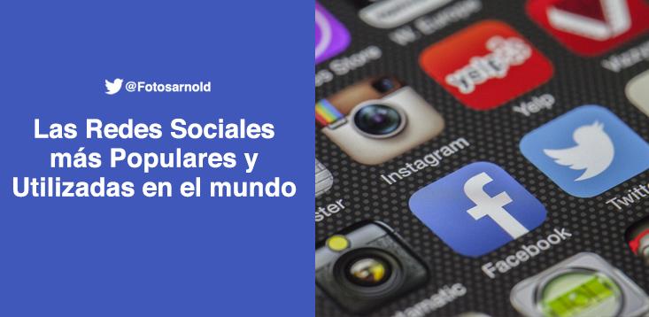 redes sociales utilizadas mundo