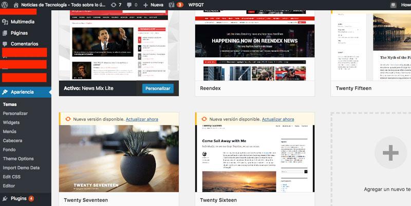 temas wordpress crear blog
