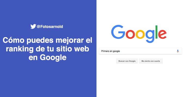 mejorar el ranking en google de tu sitio web