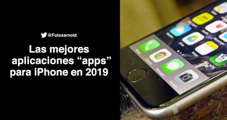 mejores aplicaciones para iphone 2019