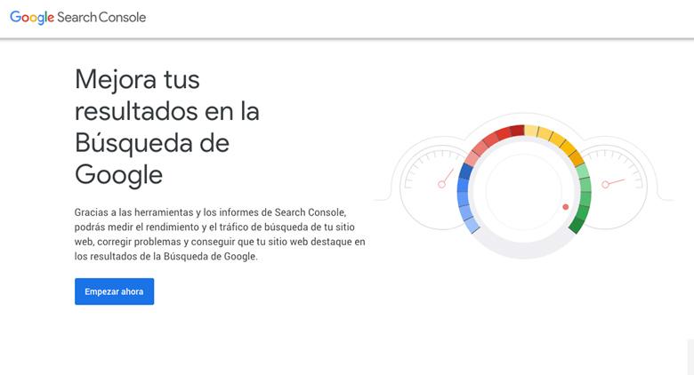 search console herramientas google