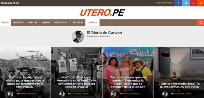 El diario de Curwen - Utero