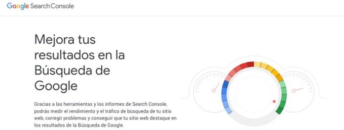 registro de sitio web en google search console