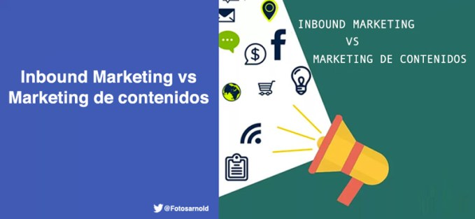 inbound marketing vs marketing contenidos
