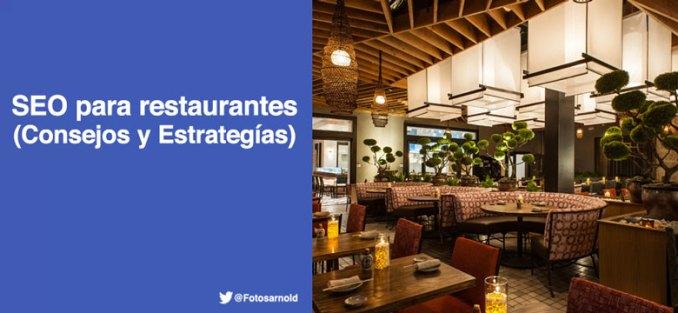 seo para restaurantes consejos estrategias