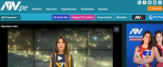 atv noticias peru
