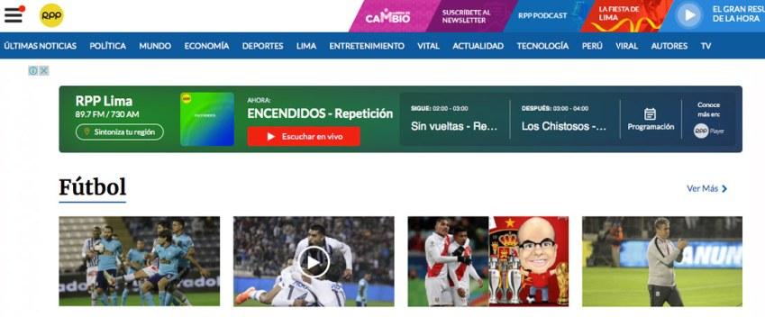 rpp portal noticias peru