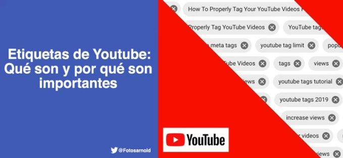 etiquetas youtube que es