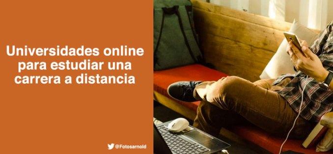 universidades online para estudiar distancia