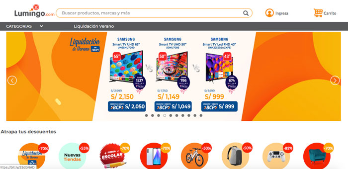 lumingo tienda online peru