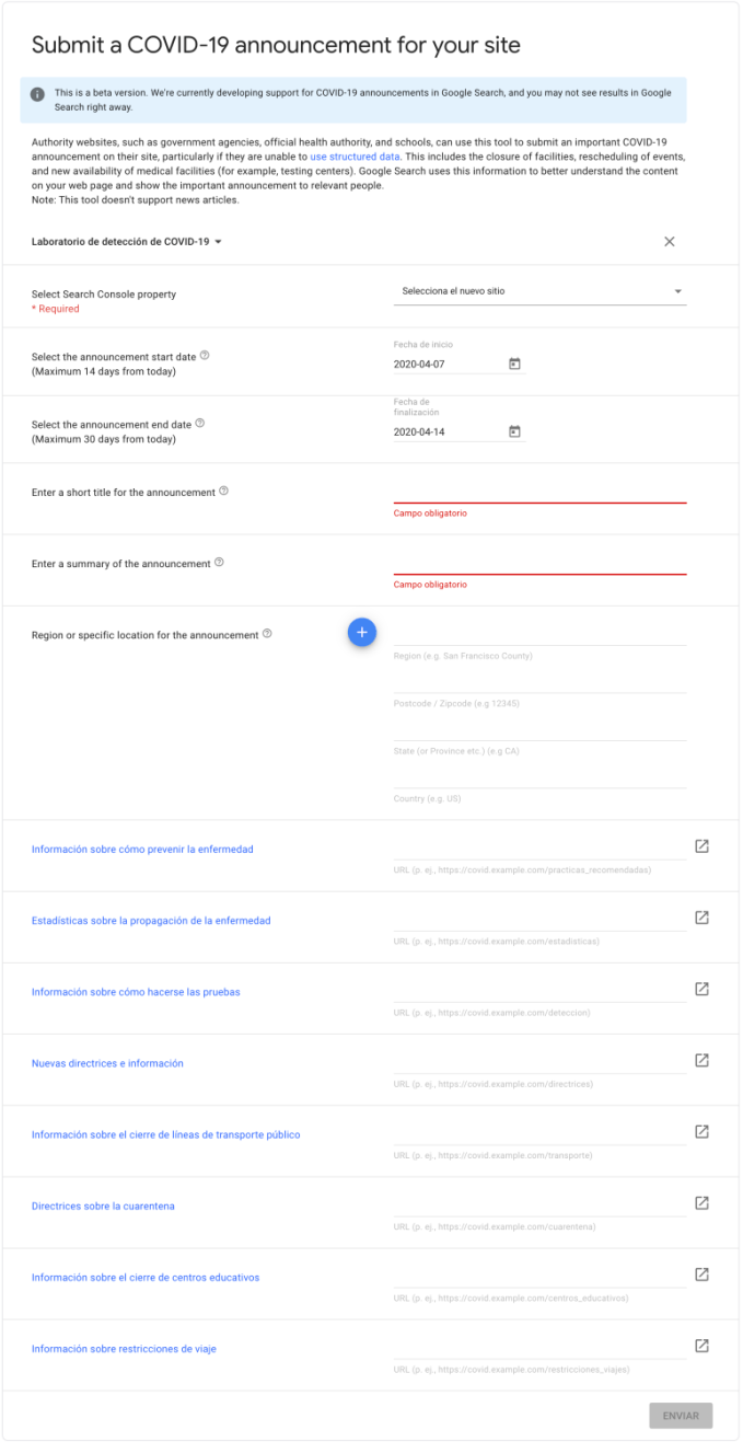 enviar-anuncio-covid19-google-search-console