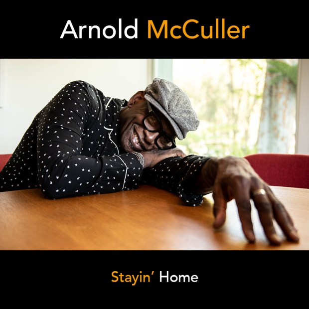 Arnold McCuller Stay' Home Cover