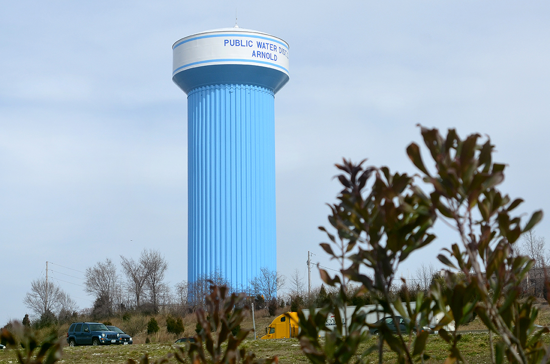 Arnold water tower
