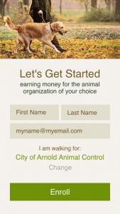 Walk for a Dog Program App