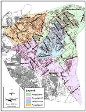 Arnold Ward map