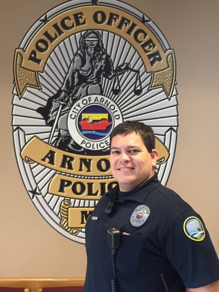 Officer Burton – City of Arnold Police Department