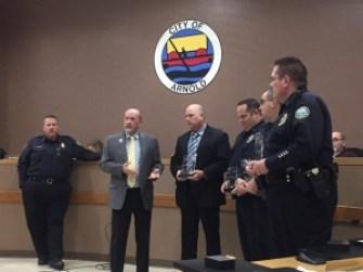 Arnold PD Officers Appreciation Award