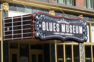 Blues Museum Sign