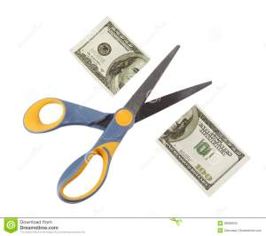 scissors-cut-hundred-dollar-bill-half-isolated-white-background-36088642
