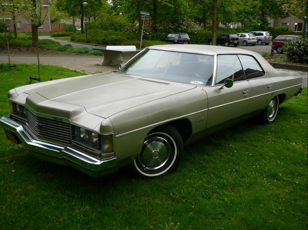 1974 Impala 1974 Chevrolet Impala Sport Coupe Luxury Classic Wallpaper