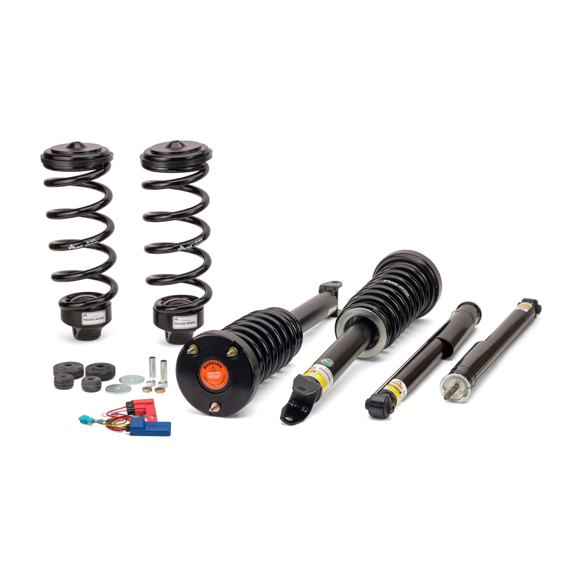 hight resolution of arnott new coil spring conversion kit w ebm mercedes benz 03 09 e class w211 05 11 cls class w219 w airmatic ads w o 4matic excl wagon