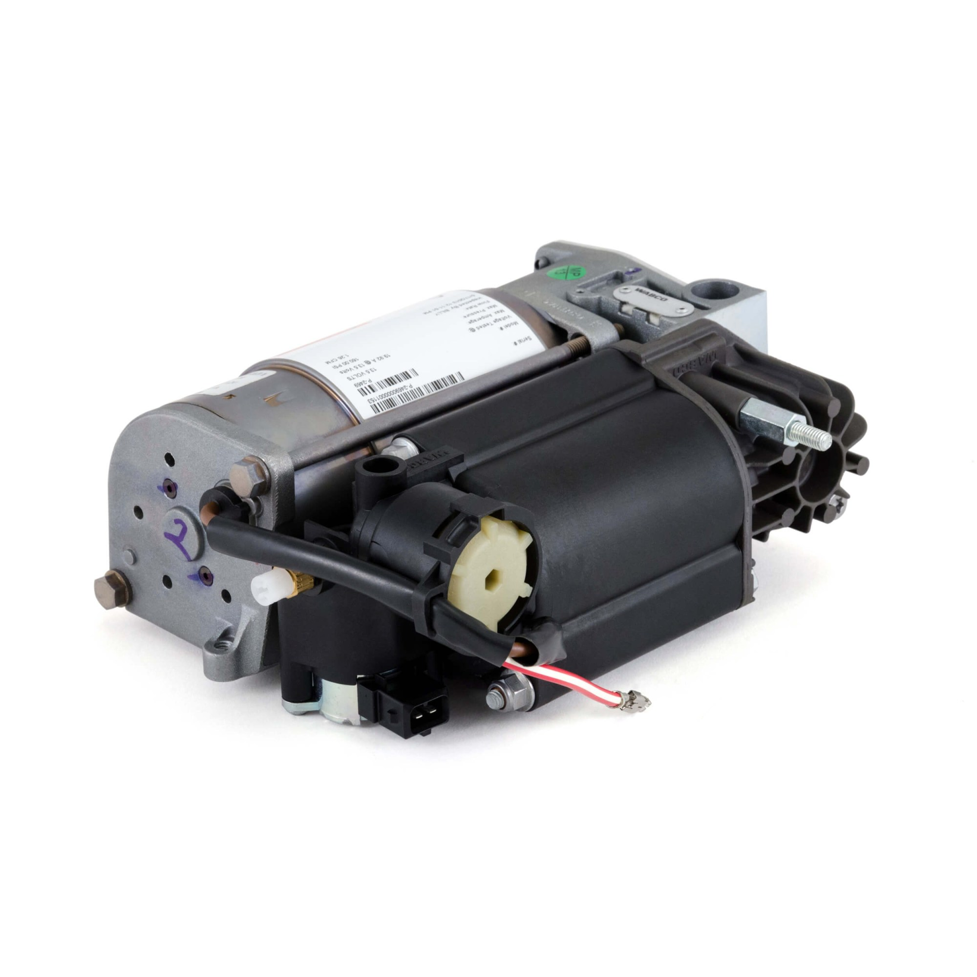 hight resolution of wabco oes air suspension compressor 00 06 bmw x5 e53 99 03 bmw 5 series e39 02 08 bmw 7 series e65 e66