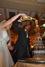 Champagne schenken