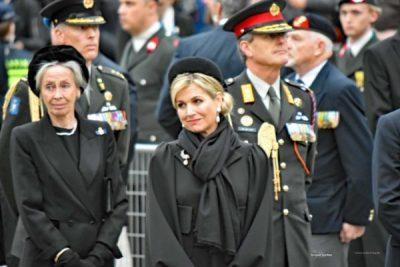 HKH Koningin Maxima tijdens de dodenherdenking 4 mei 2017