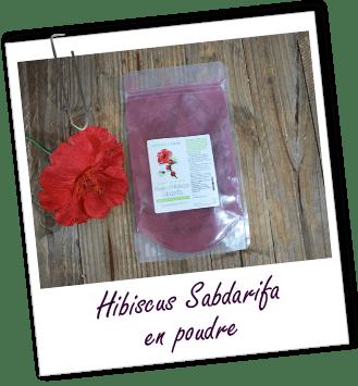 Poudre ayurvédique Hibiscus Aroma-Zone