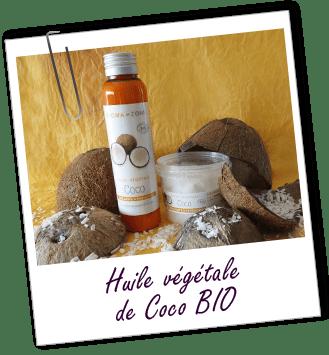 Huile végétale de Coco Bio, Soin cheveux